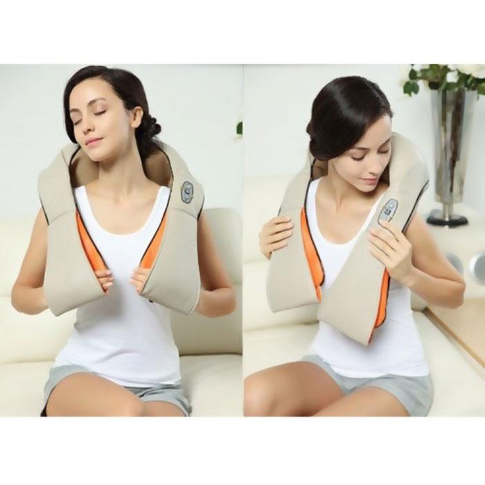 Máy massage vai cổ 8 bi