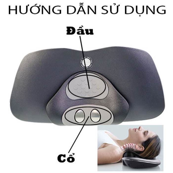 Máy massage cổ RED FLOWER