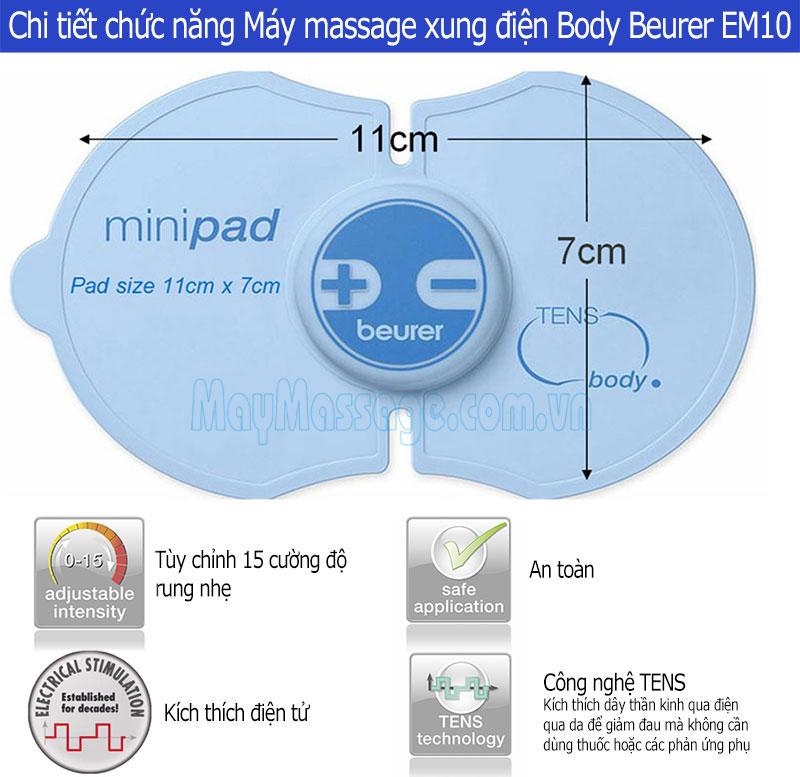 Máy massage Body Beurer EM10