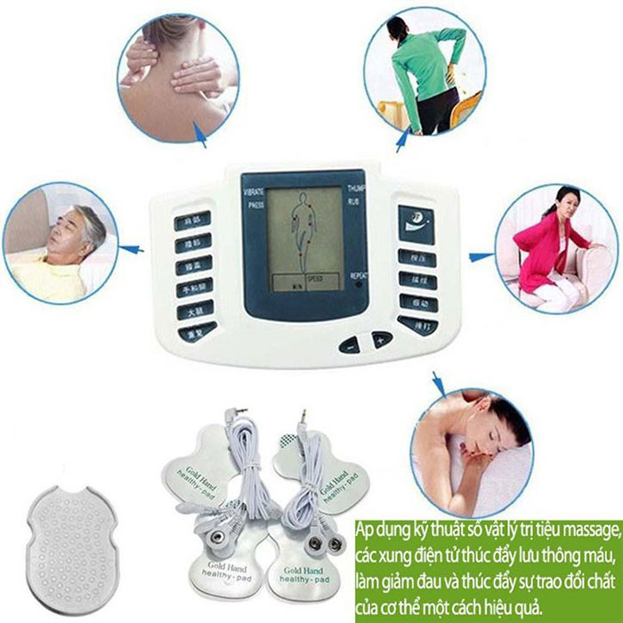 Máy massage xung điện hợp massage chân