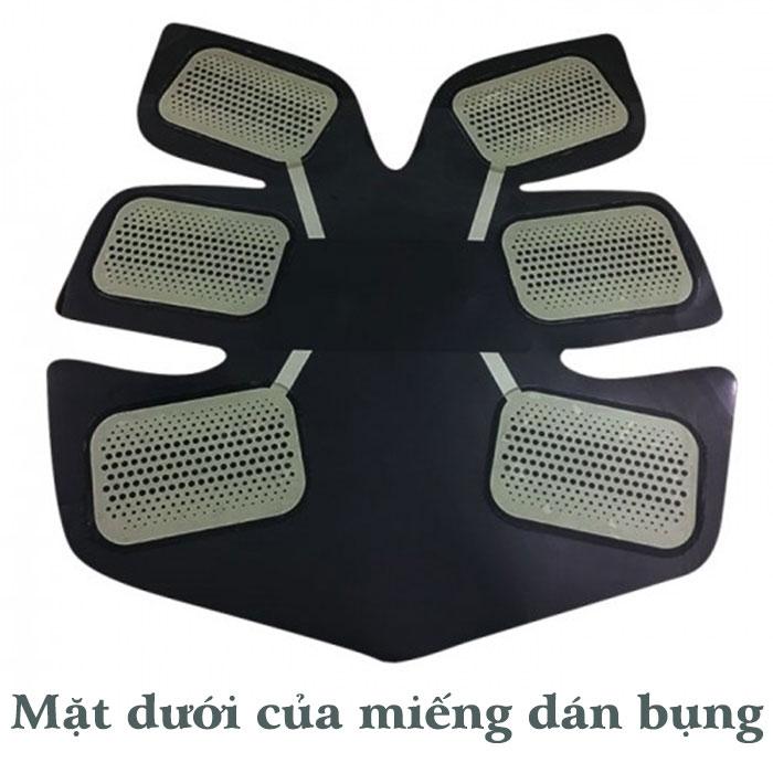 Máy massage xung điện tạo cơ bụng 6 múi GYM  - Xanh