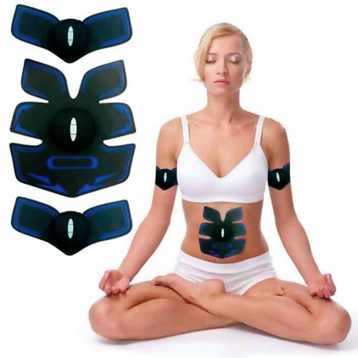 Máy massage xung điện tạo cơ bụng 6 múi