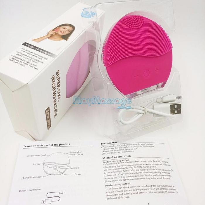 Máy massage rửa mặt mini JMY04