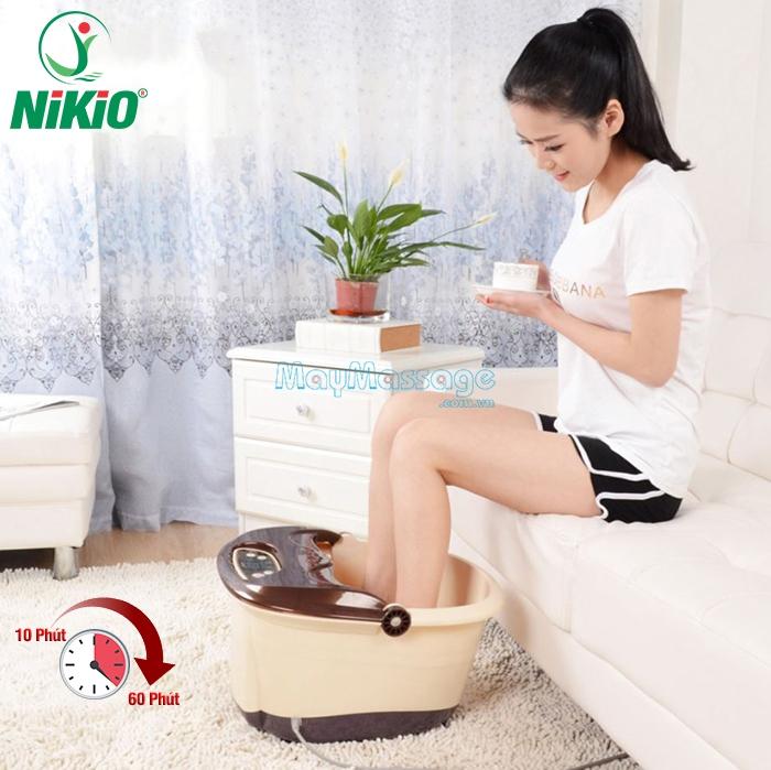 Bồn ngâm chân matxa Nikio NK-192