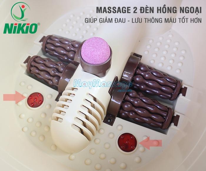 Bồn ngâm chân massage Nhật Bản Nikio NK-192