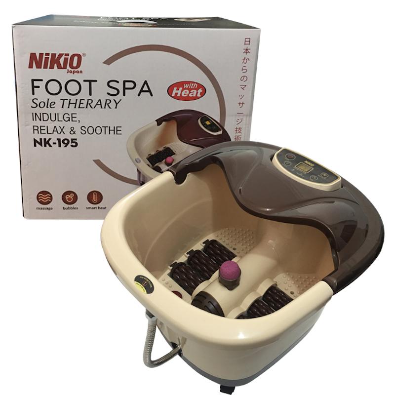 Bồn ngâm massage chân công nghệ Nhật Bản Nikio NK-195