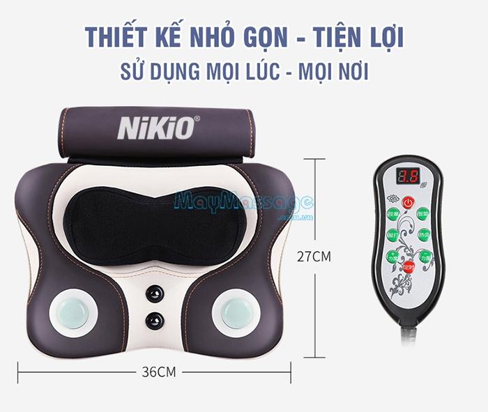 Máy massage lưng Nikio NK-136AC