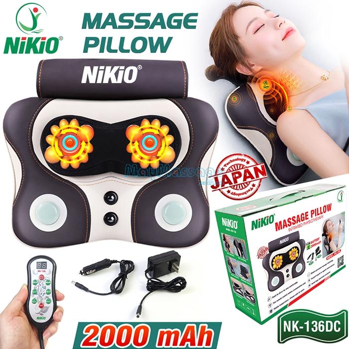 Massage đấm bóp Nikio NK-136DC