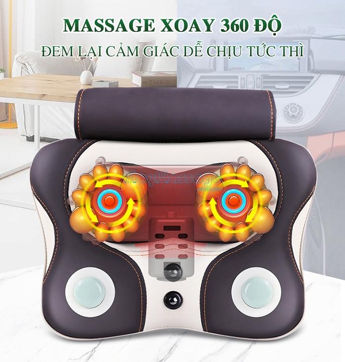 Máy massage 360 độ NK-136DC