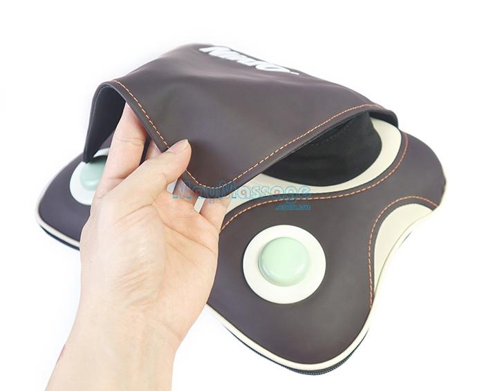 Máy massage cổ, vai, gáy da PU Niko NK-136DC