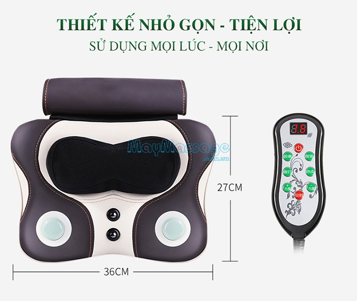 Máy massage cổ, vai, gáy Niko NK-136DC