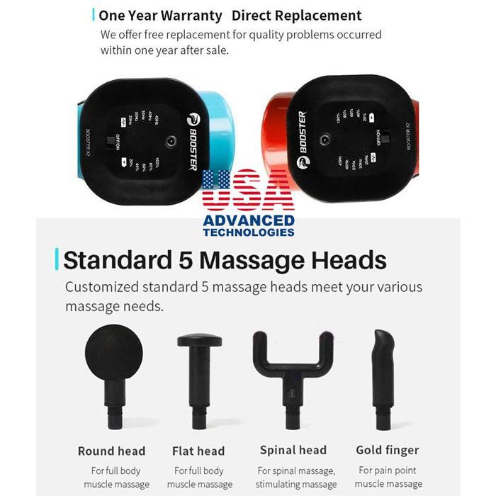 Súng massage Booster X2
