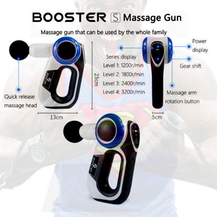 Súng massage gun Booster S - 120W