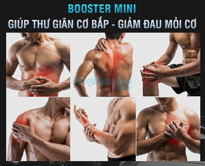 Súng massage cơ Booster Pocket MINI