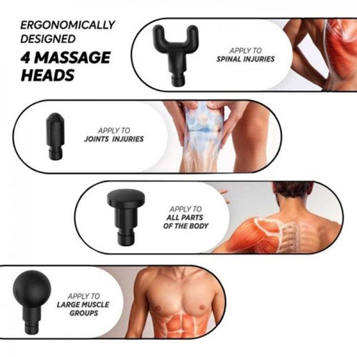 Súng massage Booster PRO X - 90W