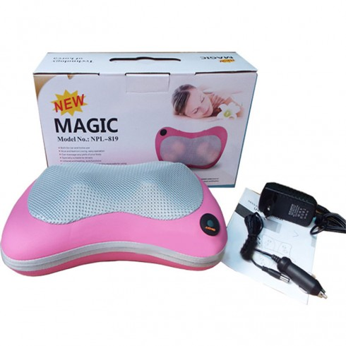 Gối massage hồng ngoại Pillow Magic New NPL-819