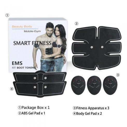 Máy massage xung điện tạo cơ 6 múi Smart Mobile GYM tập bụng 6 múi