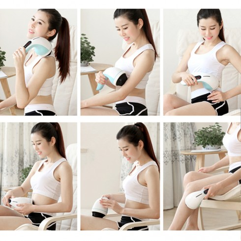 Máy massage cầm tay 8 đầu Hàn Quốc Puli PL-607AC3