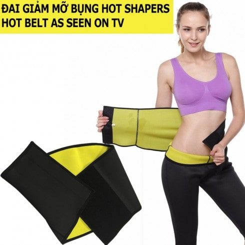 Nịt đai quấn giảm mỡ bụng Hot Shapers Hot Belt As Seen On TV