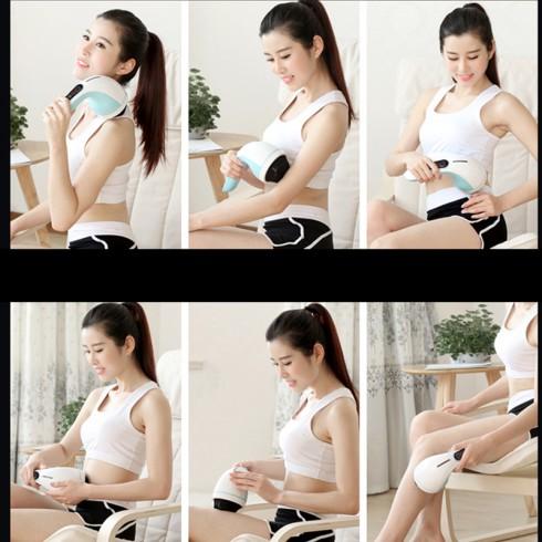 Máy massage cầm tay 4 đầu Puli PL-607AC4 - Điện tử