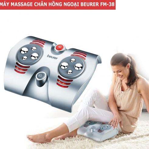 Máy massage chân trị liệu hồng ngoại Beurer FM-38