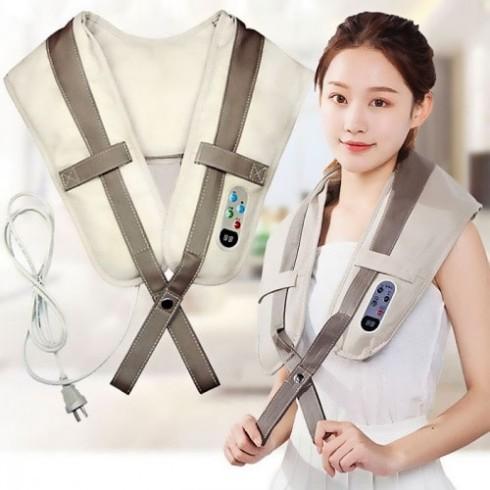 Máy massage đấm bóp vai gáy cổ lưng Hàn Quốc PULI PL-902