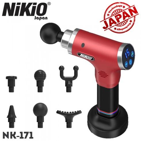 Súng massage gun trị đau nhức giảm căng cơ Nhật Bản Nikio NK-171