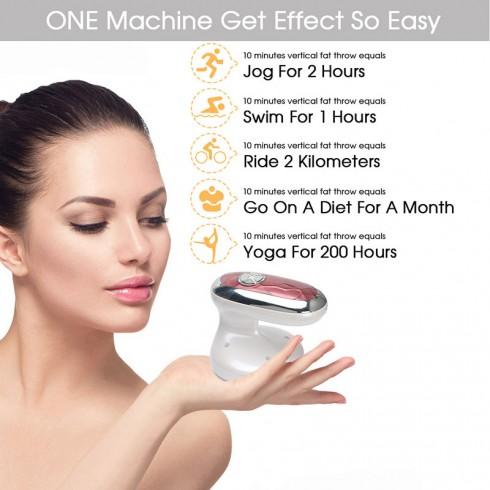 Máy massage giảm béo bằng tần số vô tuyến Radio 4in1