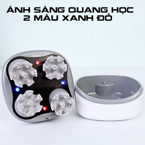 Máy massage đầu cầm tay pin sạc 4D Ghen Qiang B26 - Cao cấp