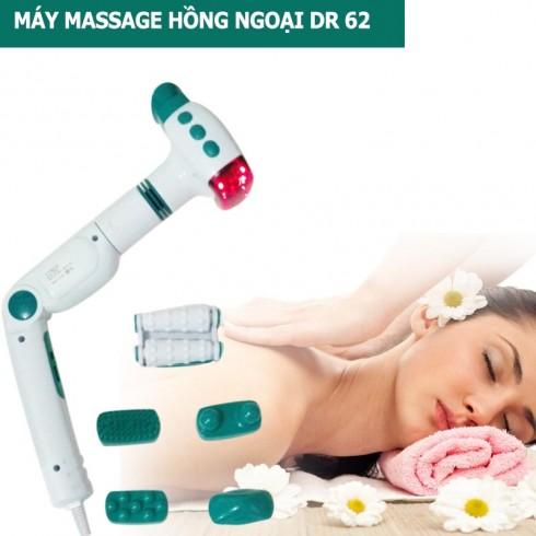 Máy massage cầm tay đèn hồng ngoại DR 62