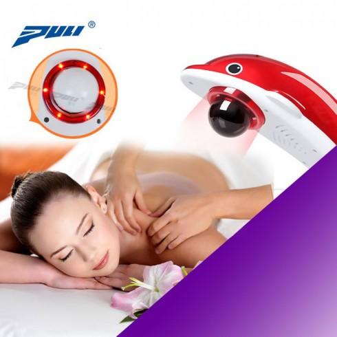Máy massage cầm tay cá heo PULI PL-608B - 6 đầu