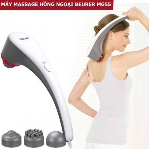 Máy massage cầm tay đèn hồng ngoại Beurer MG55