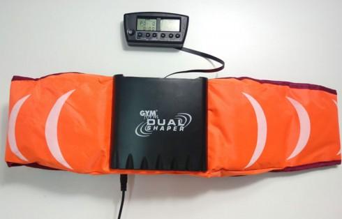 Máy massage bụng rung và tập GYM from DUAL SHAPER 2 in 1 Mỹ