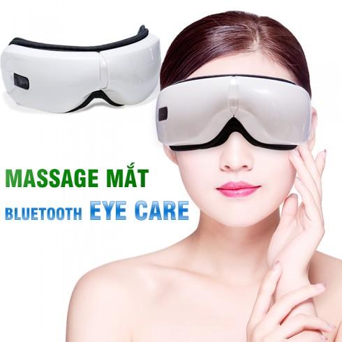 Máy massage mắt áp suất khí nhiệt sưởi Bluetooth Eye Care