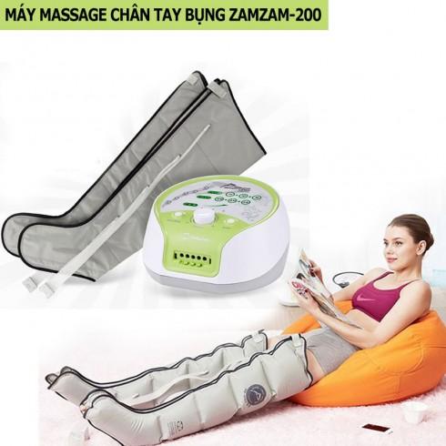 Máy massage chân tay bụng áp suất khí ZamZam-200
