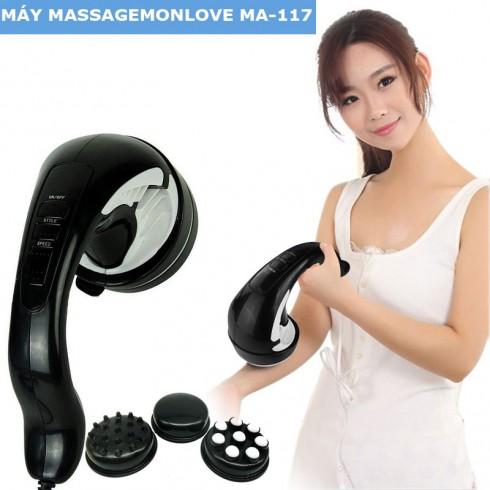 Máy massage cầm tay 4 đầu Monlove MA-117