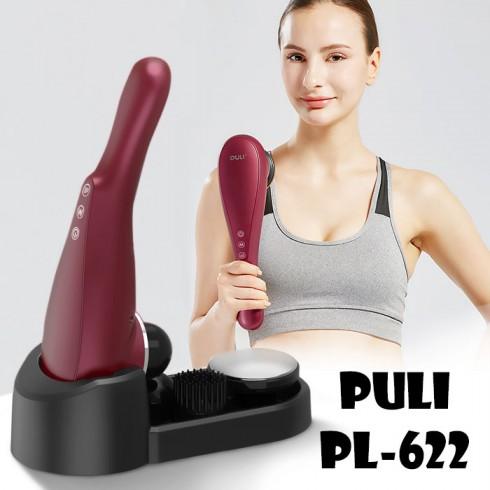 Máy massage cầm tay pin sạc PULI PL-622 - Có đầu nóng 60 độ