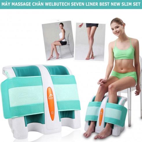Máy massage chân đa năng Welbutech Seven Liner Best New Slim set