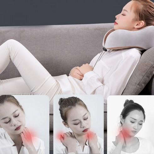 Gối ngủ massage điều trị đau mỏi cổ Nhật Bản YJ-818
