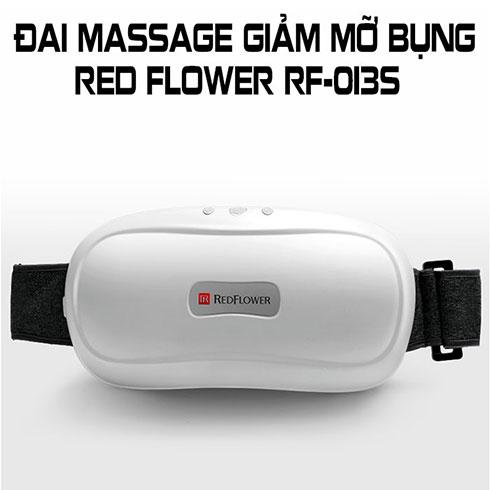 Đai massage bụng xoa bóp RED FLOWER RF-013S - Cấm điện