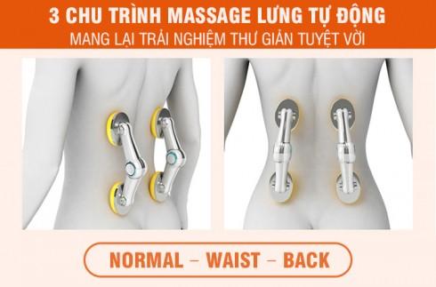 Ghế massage toàn thân hồng ngoại Nhật Bản Nikio NK-180