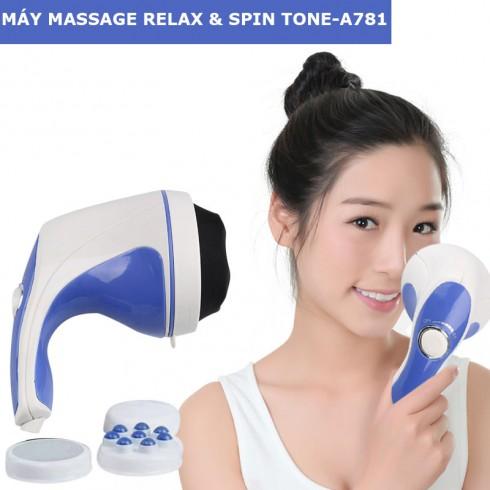 Máy massage cầm tay Relax & Spin Tone-A781 chính hãng