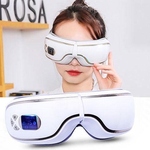 Máy massage mắt áp suất khí Bluetooth YJ-518 - Dòng cao cấp