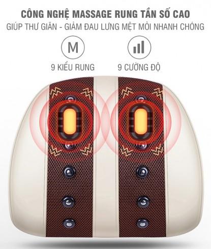 Máy massage điều trị đau mỏi lưng cổ vai gáy đa năng YIJIA YJ-M3