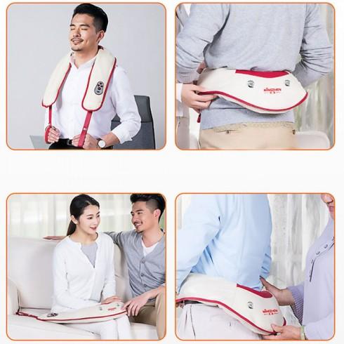 Đai massage cổ vai gáy Mingzhen MZ-666 - 100 kiểu đấm bóp