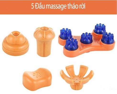 Máy massage cầm tay nhập khẩu Hàn Quốc Squirrel V-555 - 30W