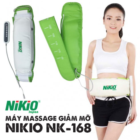 Máy massage giảm mỡ bụng Nhật Bản Nikio NK-168