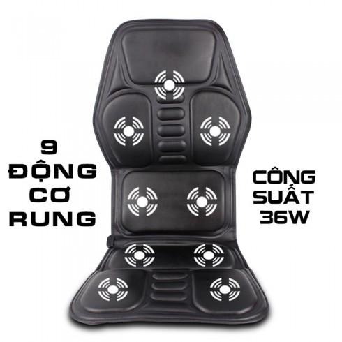 Đệm massage trên ô tô nhiệt nóng MingZhen 308 - 24V