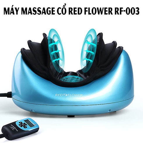 Máy massage cổ áp suất khí đa năng RED FLOWER RF-003