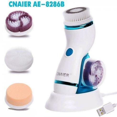 Máy massage và rửa mặt pin sạc Hàn Quốc CNAIER AE-8286B